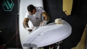 AV Boards in the making by Aurelio Verdi