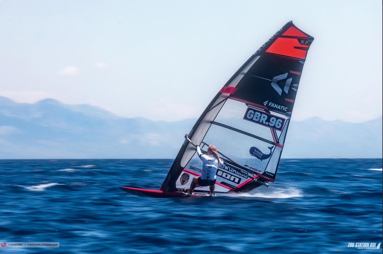 Jenna Gibson from UK win in Bol, Croatia