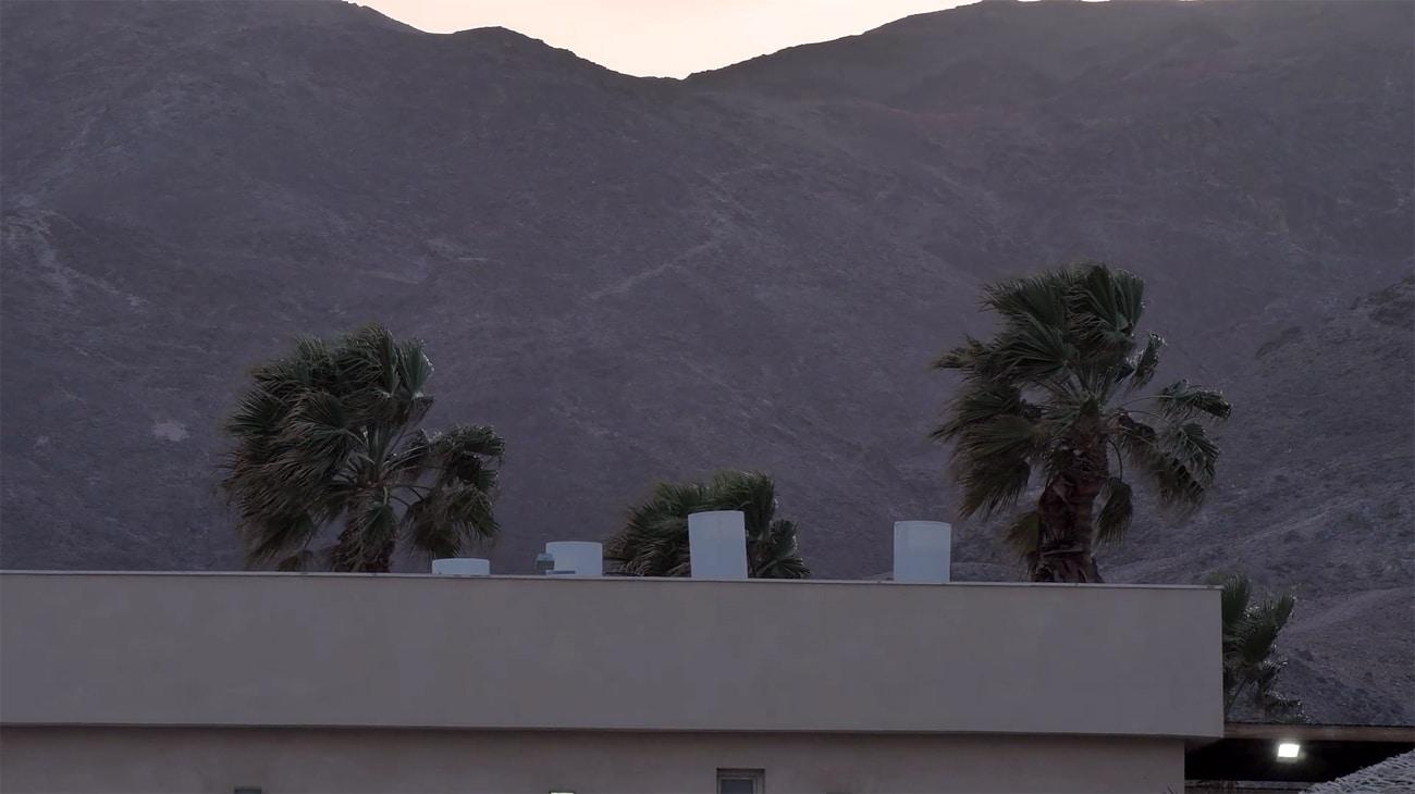 Evening light at Yarden's home spot