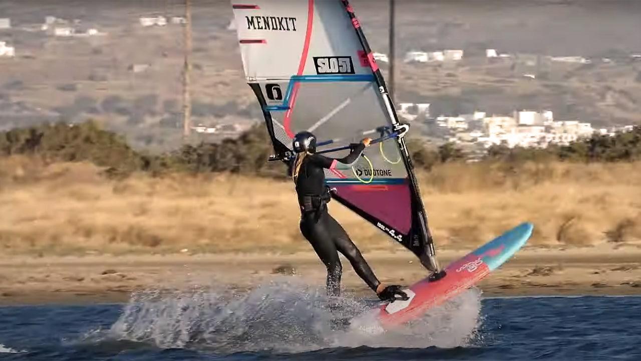 Lina Erzen in Naxos in 2020
