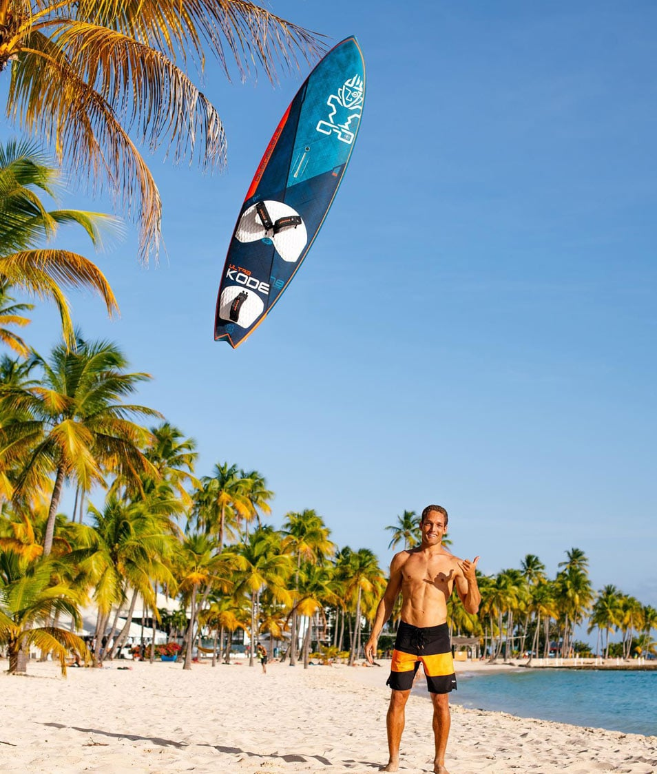 Antoine Martin joins Starboard Windsurfing
