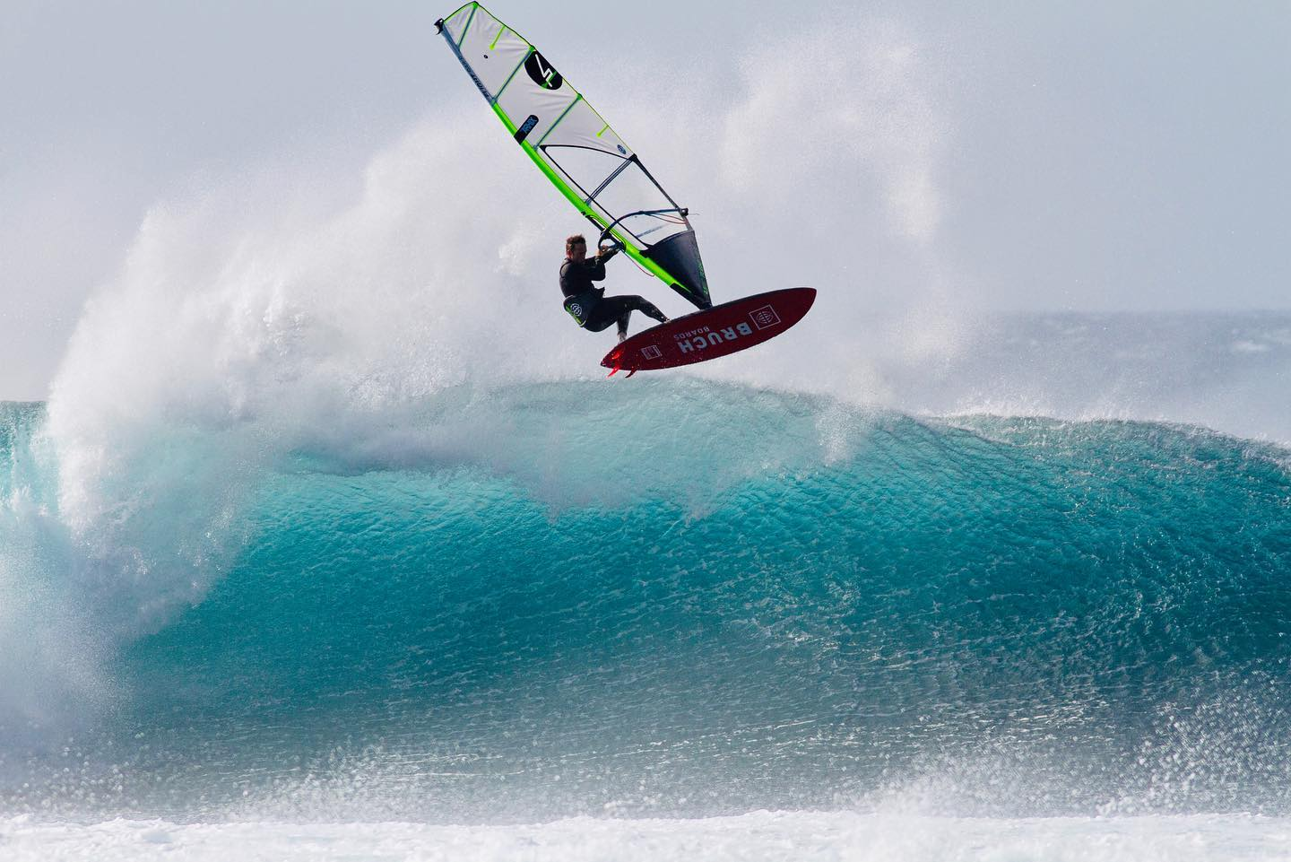 Dany Bruch on Flight Sails in Tenerife