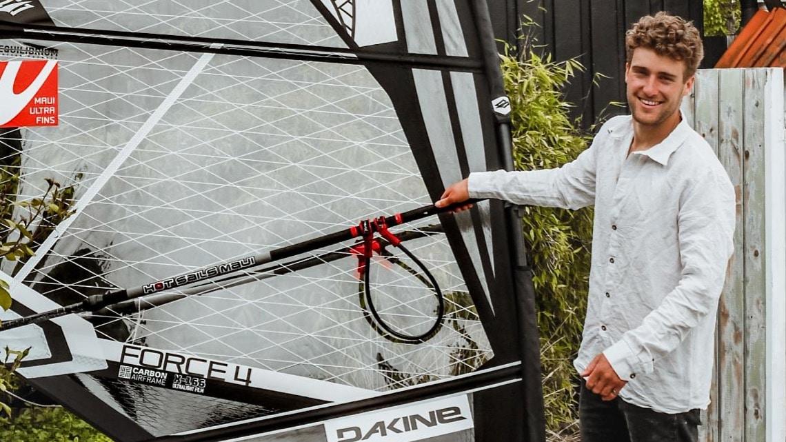 Henri Kolberg joins Naish Sails International