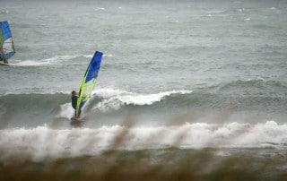 Marine Hunter in Danish waves