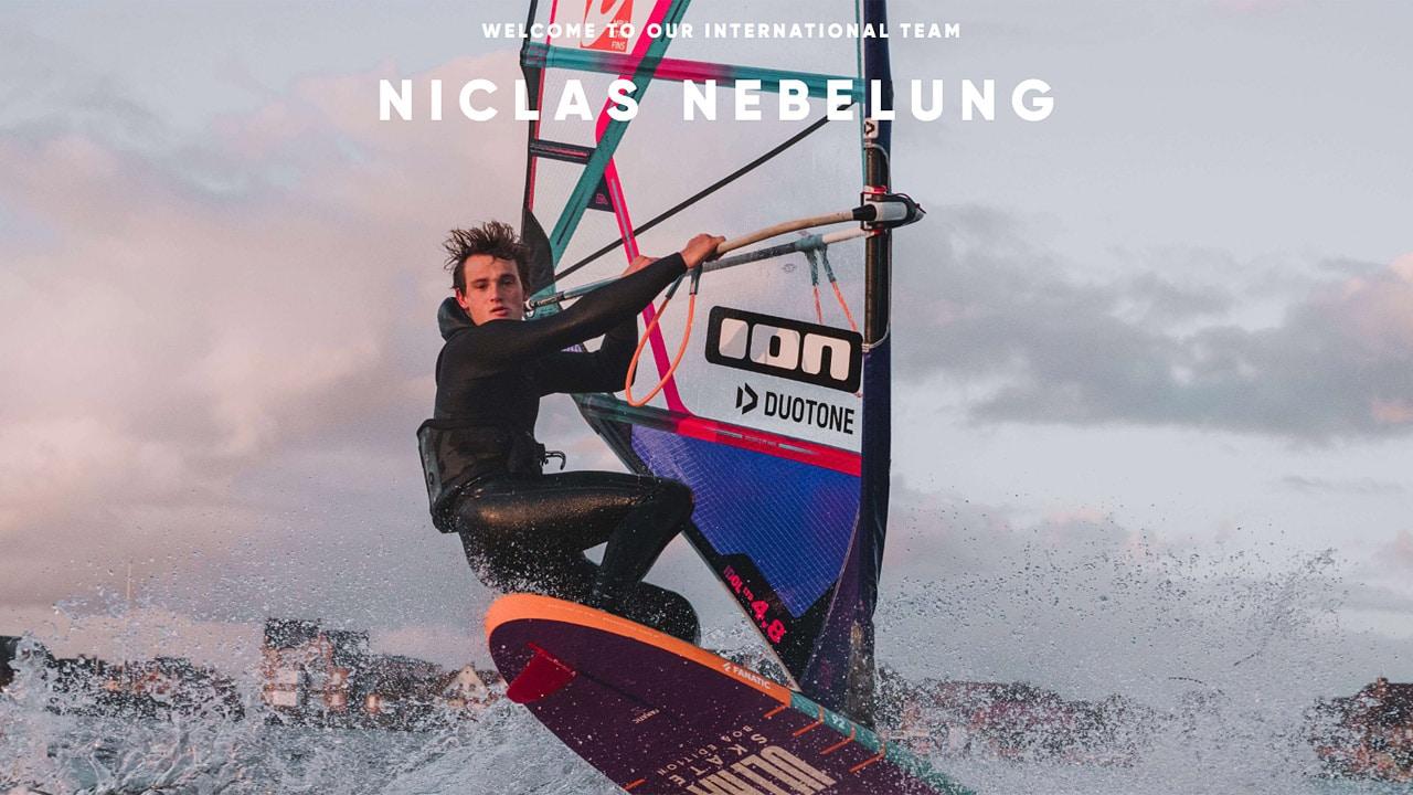 Niclas Nebelung joins the international team of Fanatic & Duotone