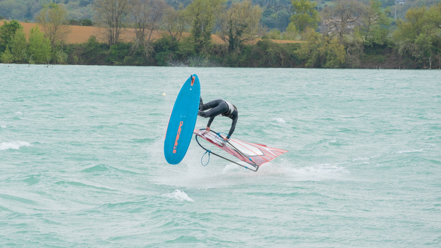 Raphael Bauer joins the French Starboard Severne team