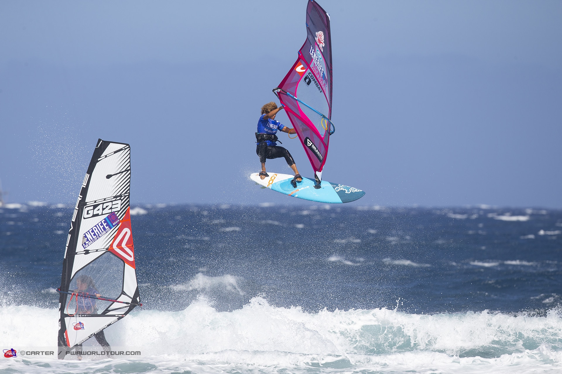 Sarah-Quita Ofringa nails a Forward in EL Cabezo (Photo: Carter/PWA)