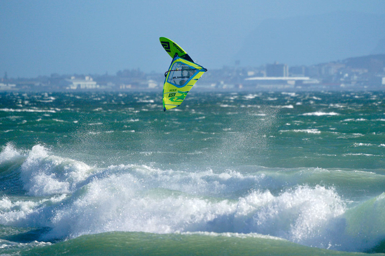 Adam Sims enjoys the European winter in Cape Town