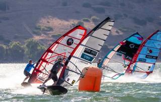 Nicolas Goyard wins the first race in Israel - Pic: PWA/Carter