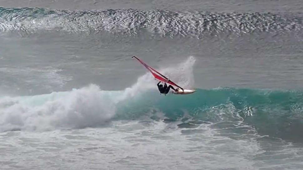 Antoine Albert rides Mosca Point