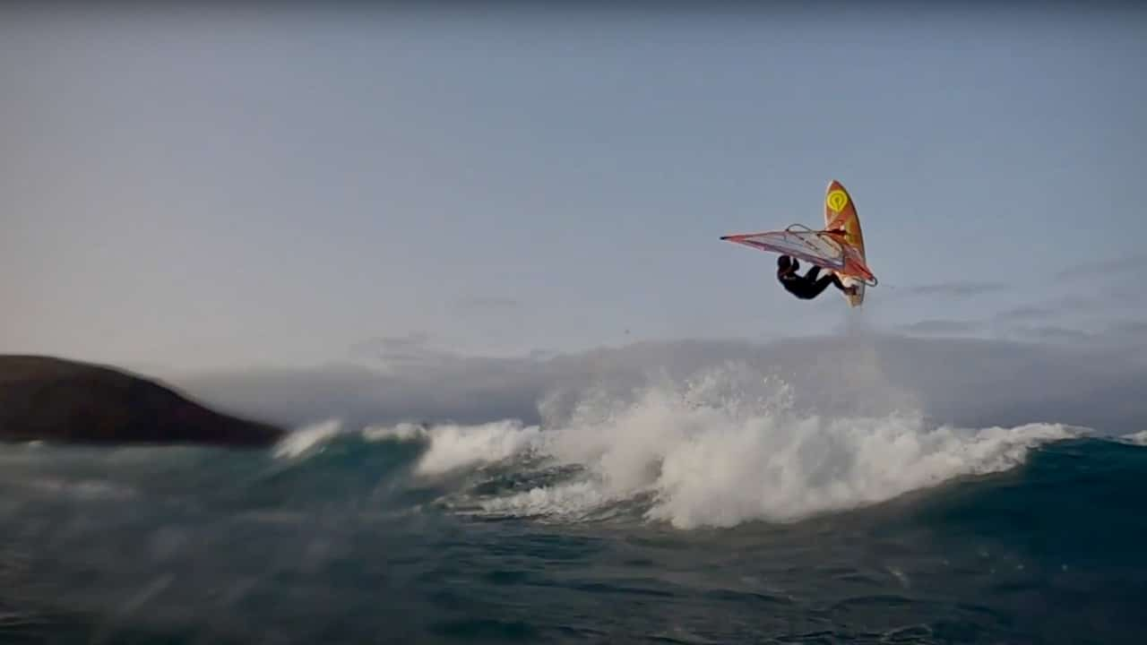 Laurin Schmuth on the Canary Islands