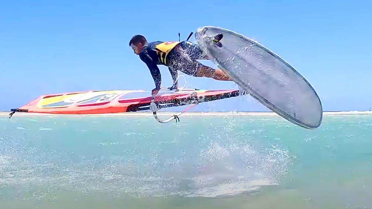 Antoine Albert top 10 windsurfing moves