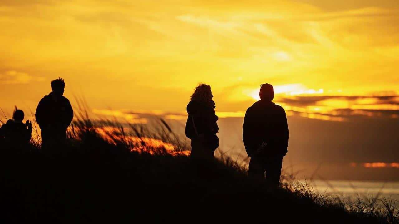 Sunset in Denmark Cold Hawaii 2021