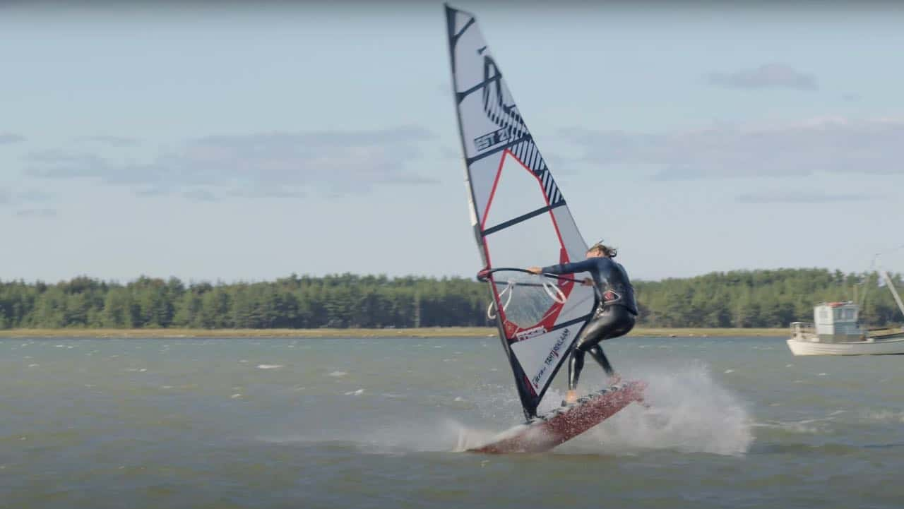 Tony Mottus with freestyle action from Estonia